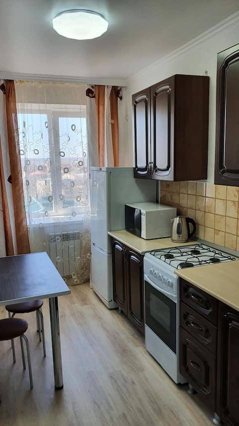 Уютная и чистая квартирка.