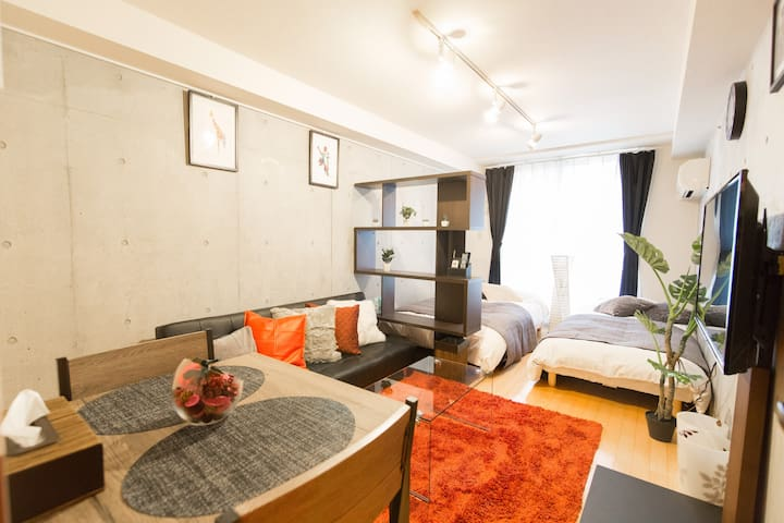 Open sale! 4min station*Shinjuku(新宿)Luxury apt#6 - Nakano - Apartamento