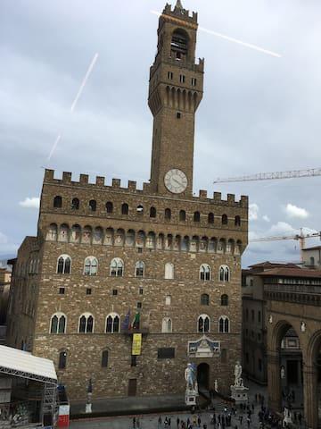 Piazza Della Signoria e Palazzo Vecchio