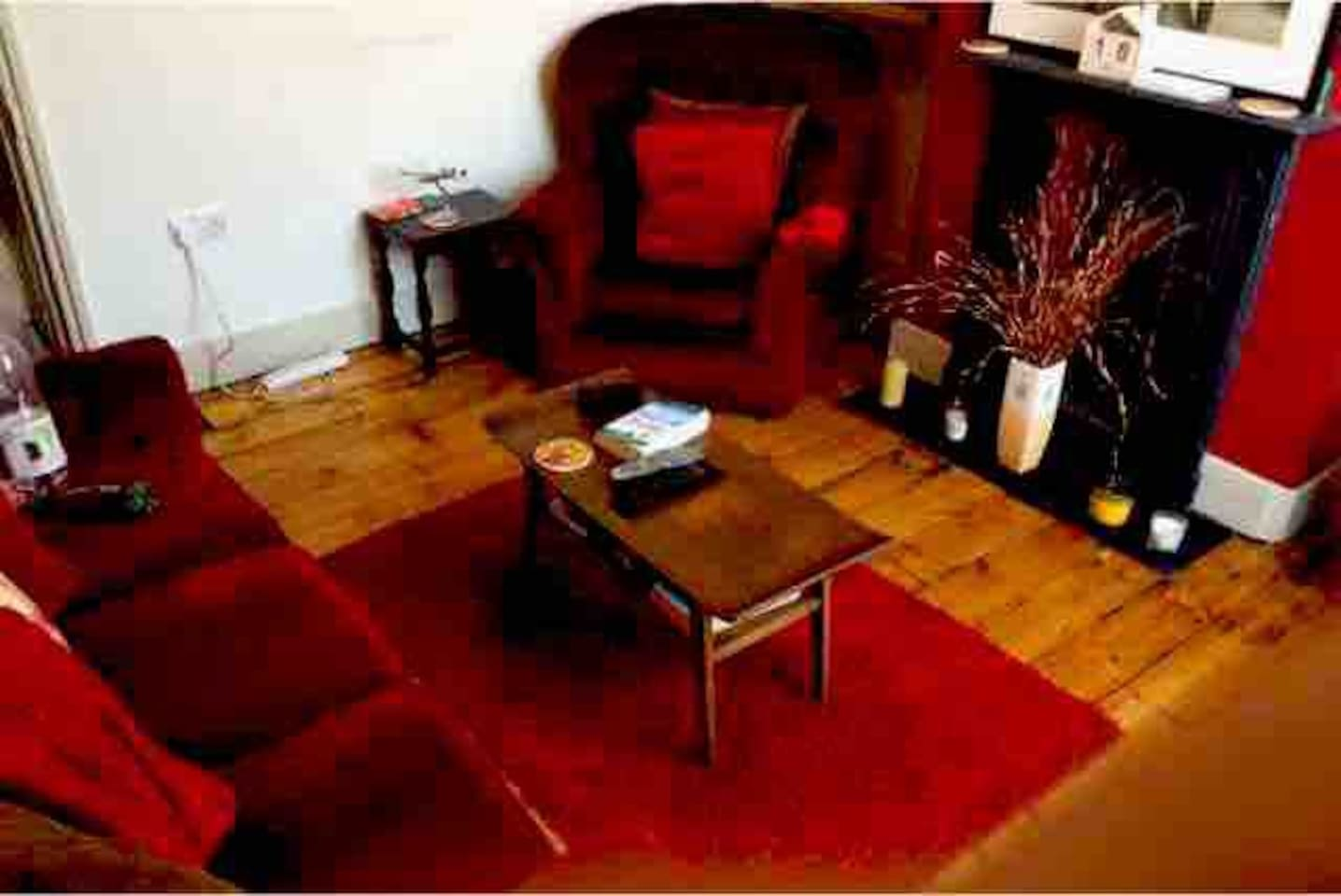 This is my lounge although I've just got a new sofa and the room now has a carpet