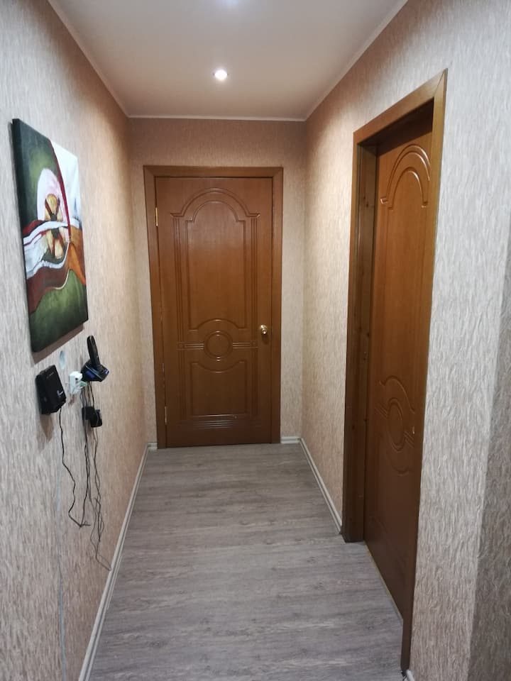 Комфортная 2-х комнатная квартира с новым ремонтом