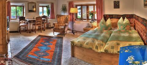 Großes, gemütliches Doppelzimmer mit allem Komfort
