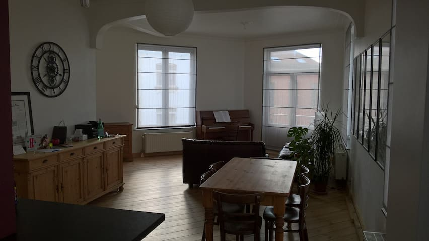 Cozy place in the centre of BXL - Schaerbeek - Apartment