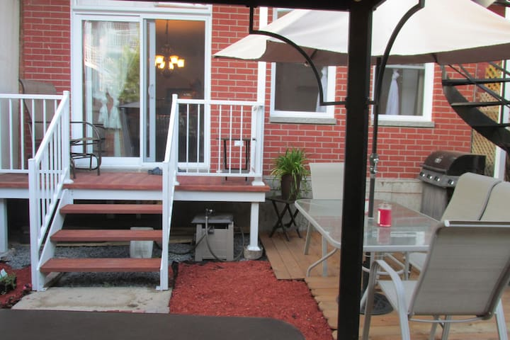 Lovely condominium with a patio and a BBQ - Montréal - Wohnung