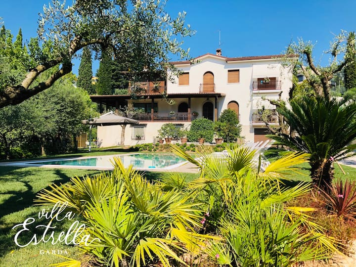 BRIGHT CHARMING APARTMENT - Villa Estrella Garda