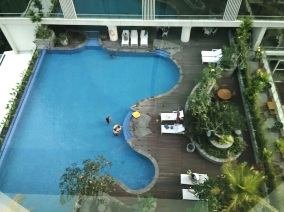 Pool accessible anytime