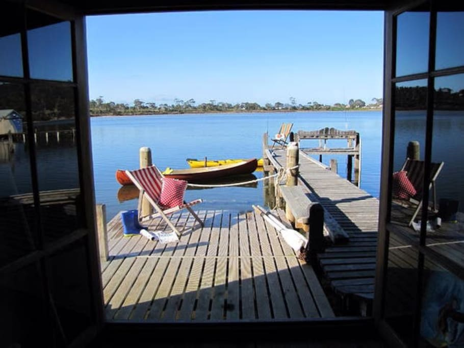 Your own Boat Shed to Relax