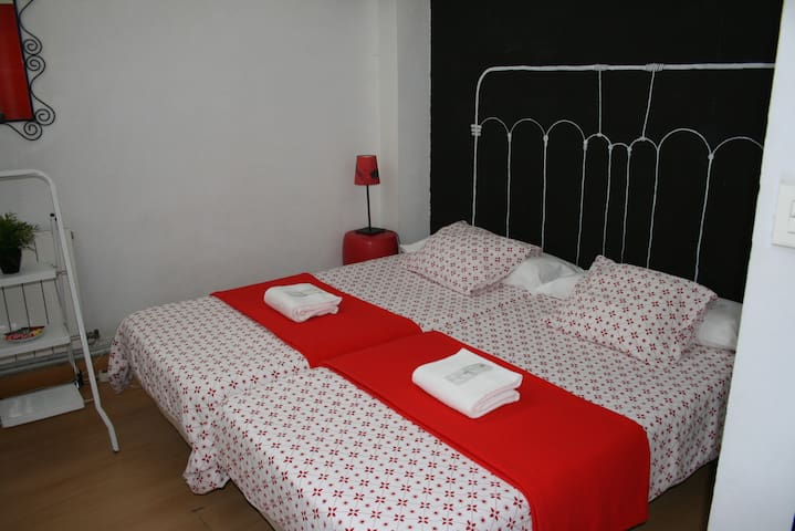 Room for two people in Deusto (two beds)