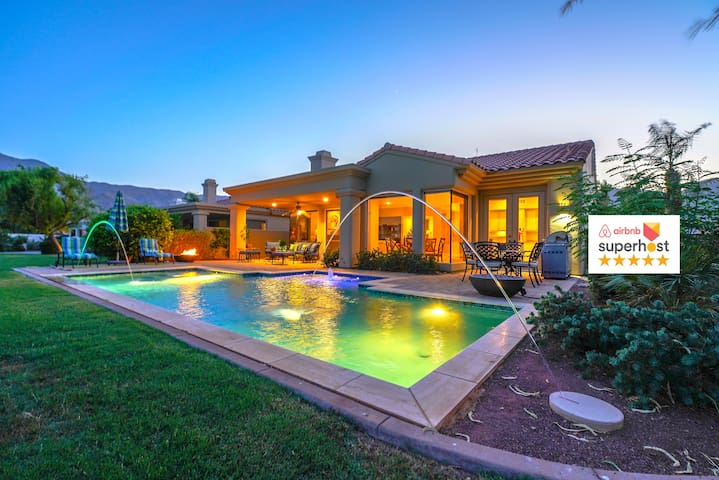 ❤RARE DESERT GEM 5★ PRIVATE POOL-FIREPITS-BBQ FUN❤