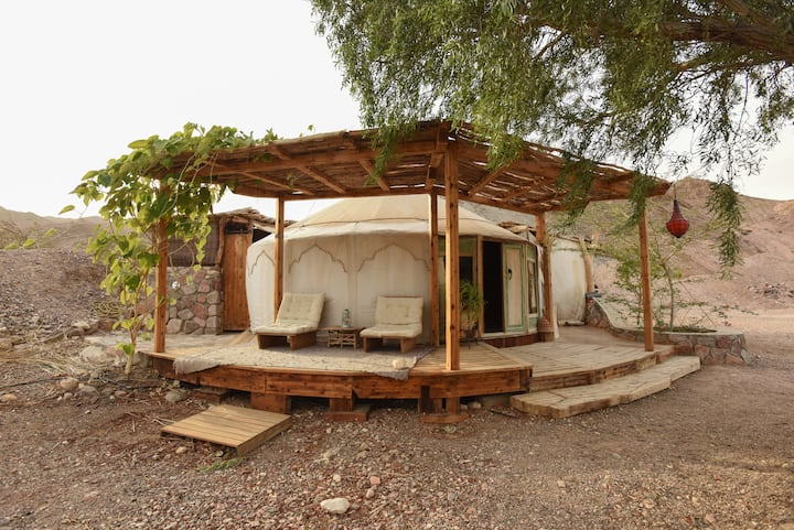 "Eilat Williams house  "" Yurt"""