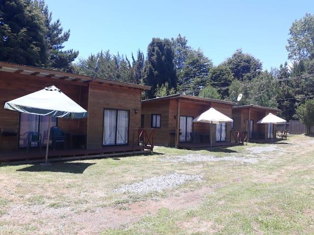 Cabaña en Caburgua montañas, lago más termas 1
