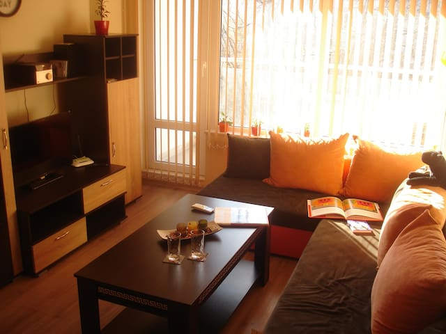 modern nest in the savannah :) for 1 or 2 ! - Plovdiv - Apartamento