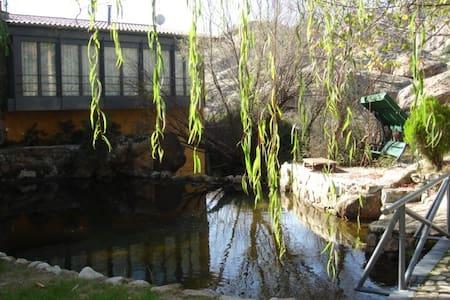 Casa de la Cascada - Manzanares el Real - Faház