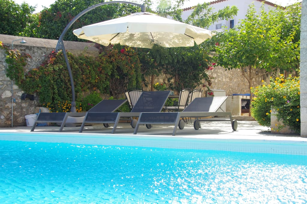 Enjoy your day by the swimming pool