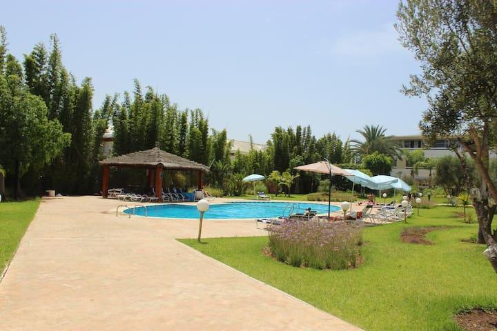 Magnifique Appartement de plage Bouznika bay