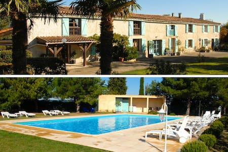 Domaine Saladry, Les Pins, Gite for up to 5 - Villepinte - Talo