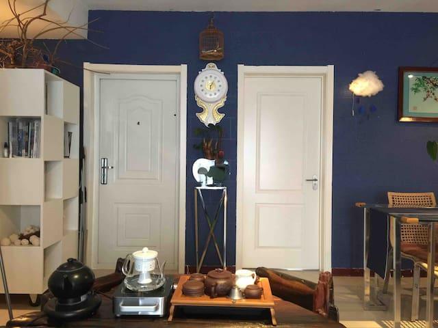 止间岛民宿·100平米两居高层临海私家公寓