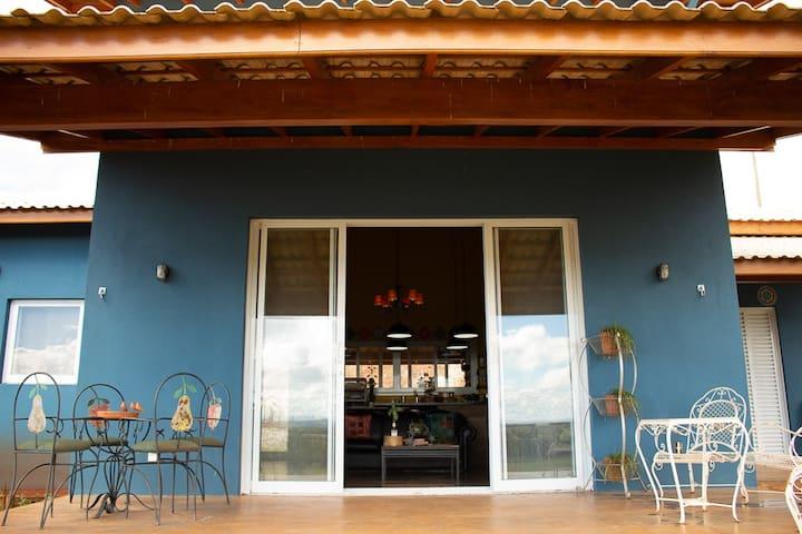 Casa Azul | Serra da Canastra
