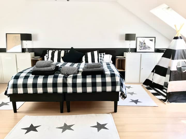 Large, Stylish, and Comfortable Room