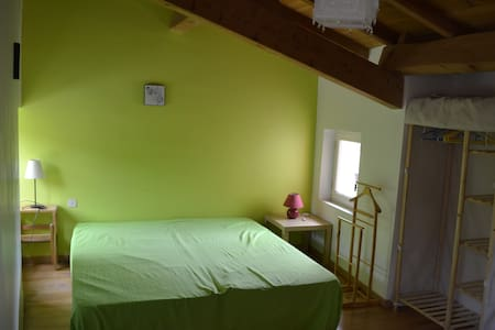 Bright green - House