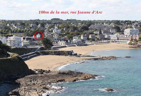Maison à 100m de la plus grande plage de St Quay
