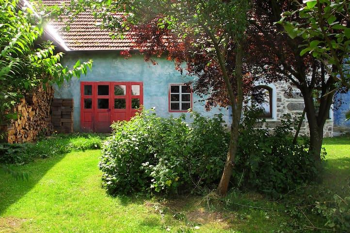 Atelier im mittelalterlichen Gutshof - Niedernondorf - Appartement