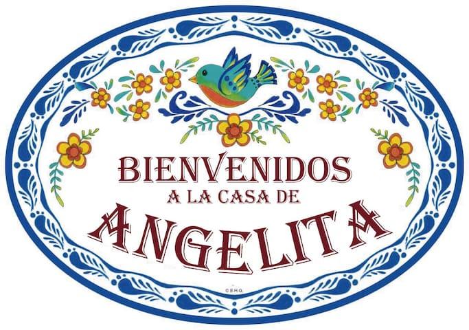 LA CASA DE ANGELITA en Montejo, Hab. 1