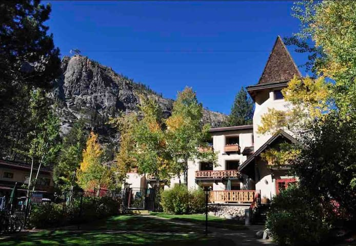 Beautiful one bed one bath at bottom of Squaw!
