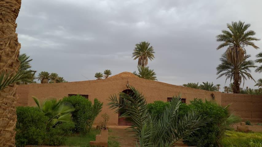 chambres au porte du desert Marocain 15€
