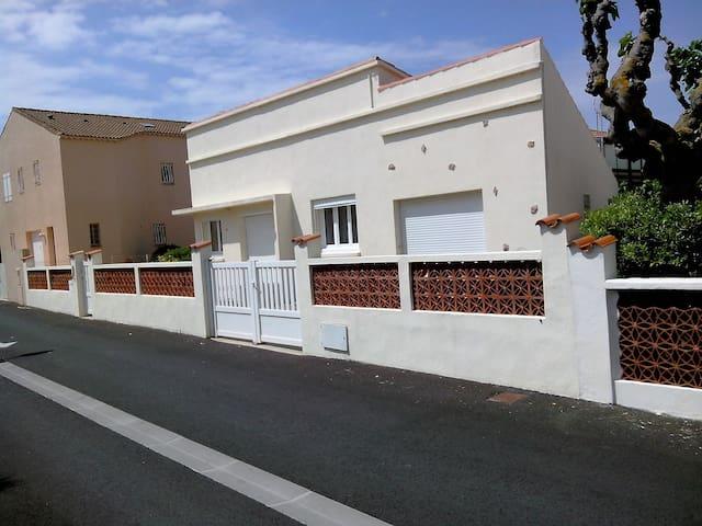 villa bord de mer portiragnes plage - Portiragnes - Rumah