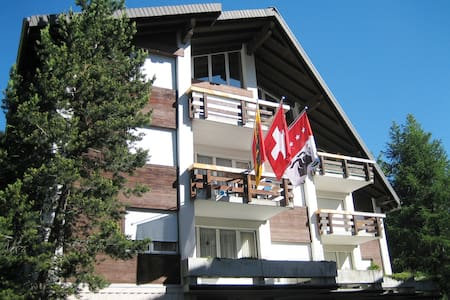 Stay safe in your own apartment in the Swiss Alps