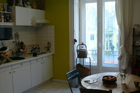 Bel appartement atypique en hypercentre - Nantes