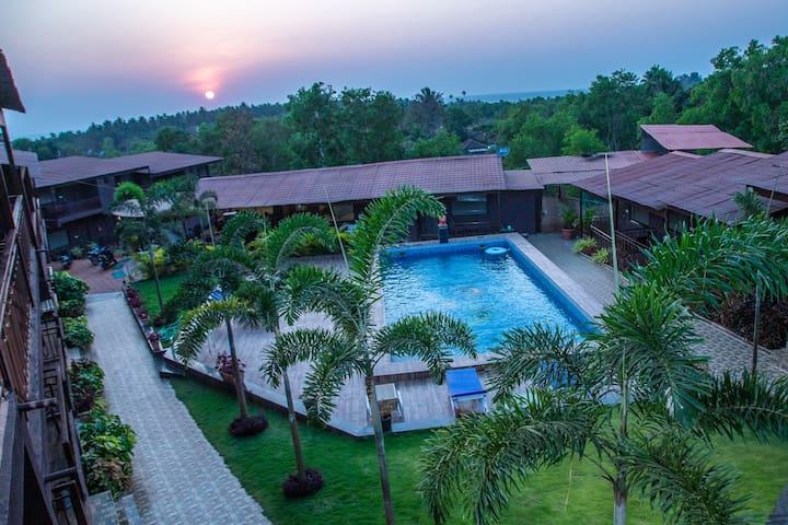 La Gracia Resort Deluxe Room with Swimming Pool