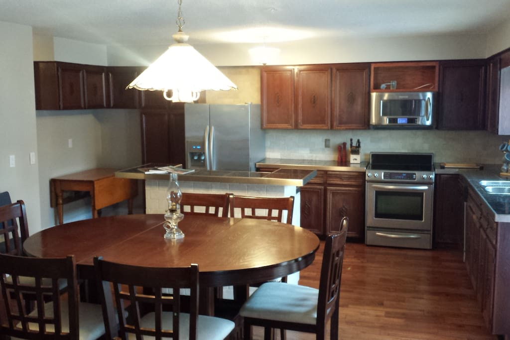 Huge kitchen dining with all amenities
