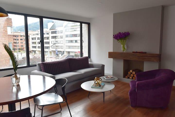 A central, chic & cozy Bogotá haven