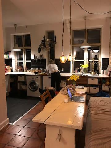 Charme in a true old Copenhagen apartment