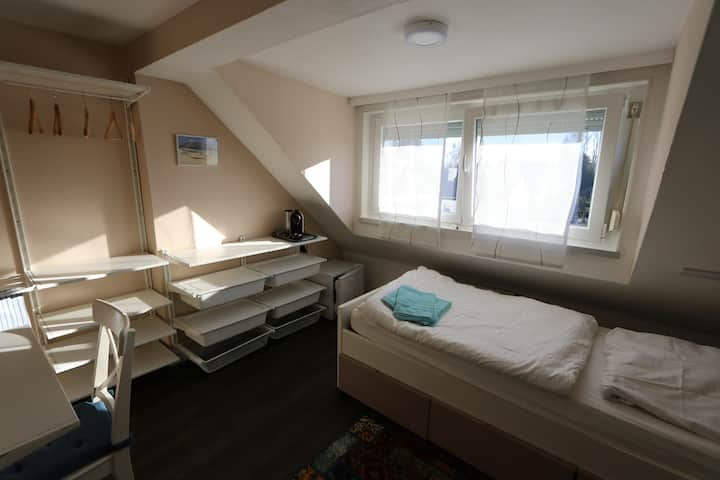 Modern room suitable for longterm stay