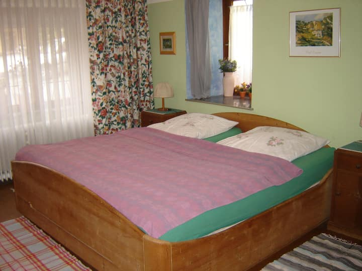 DZ,Doppelbett (top auch für Wanderer)