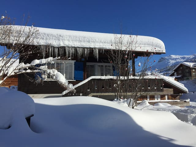 gemütliches Chalet im Skigebiet Obersaxen