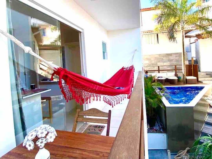 Flats MorrodeSP-Especial 2 banheiros-40m Praia