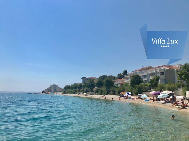 Villa Lux**** by Split NEW Whirlpool beachfront
