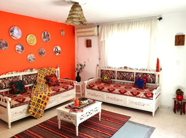Dar el Arbi:The New Traditional Guest House @Marsa