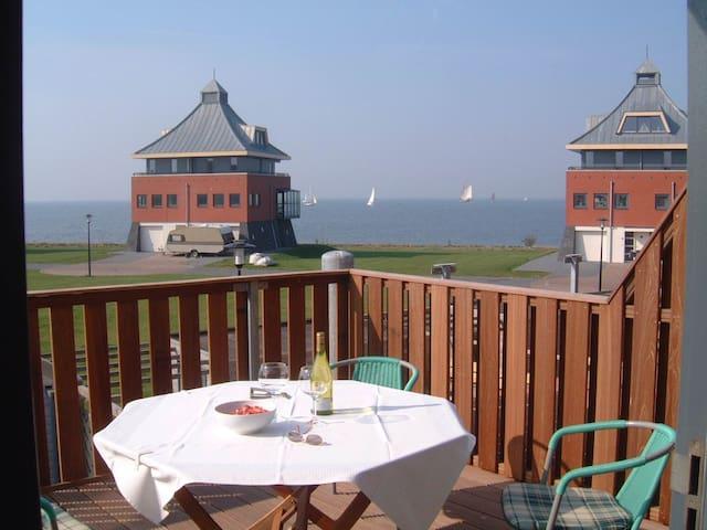 Tolles Ferienhaus mit Blick aufs Ijsselmeer - Stavoren - Townhouse