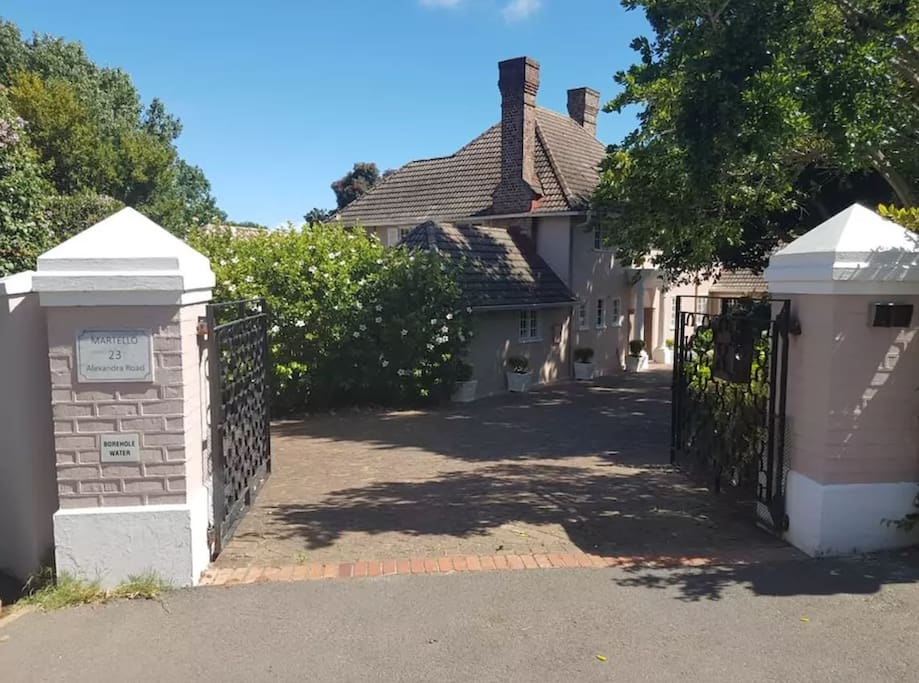 Main House - Entrance Gate