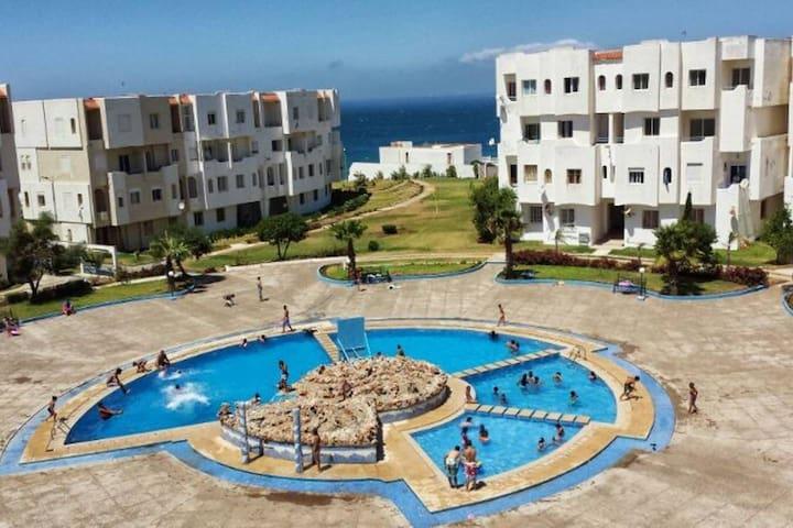 Appartement Duplex Arous Al Bahr • Piscines & Mer