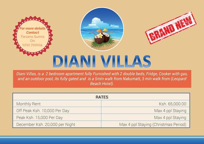 Diani Villa Apartment - Diani Beach - Apartament