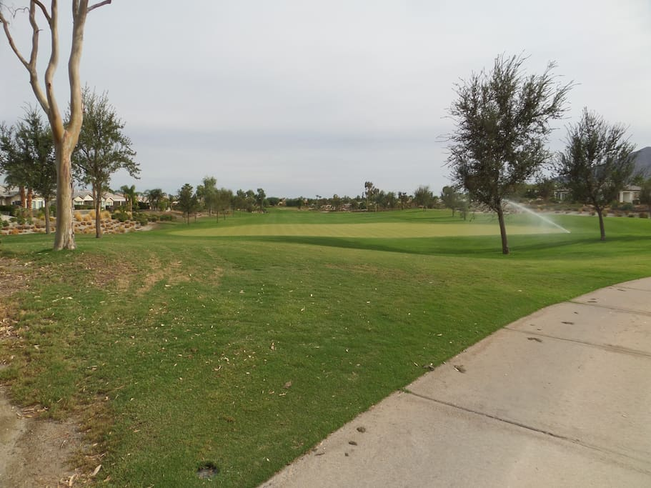 7th Fairway- Golf Club at LaQuinta; view from back