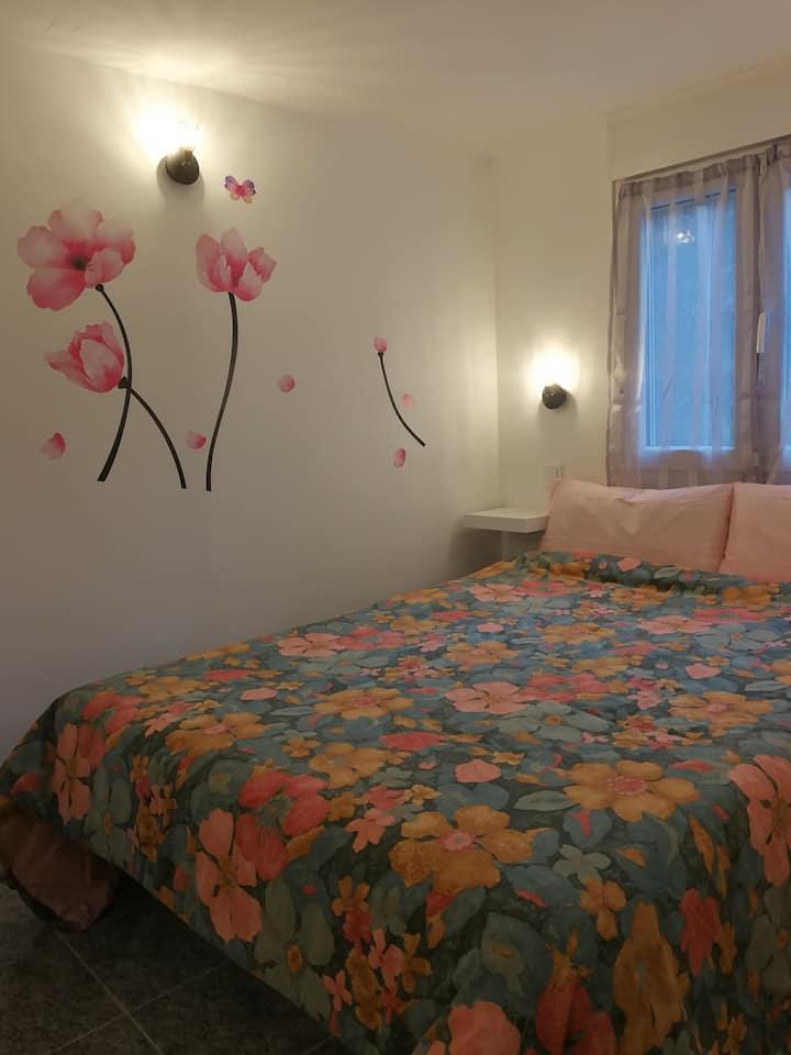 El apartamento de la casa del jardín de Santander
