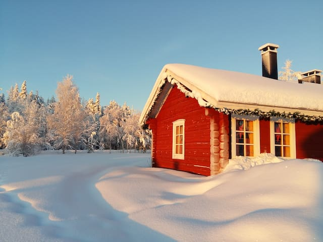 Unique Log Cottage in Lapland