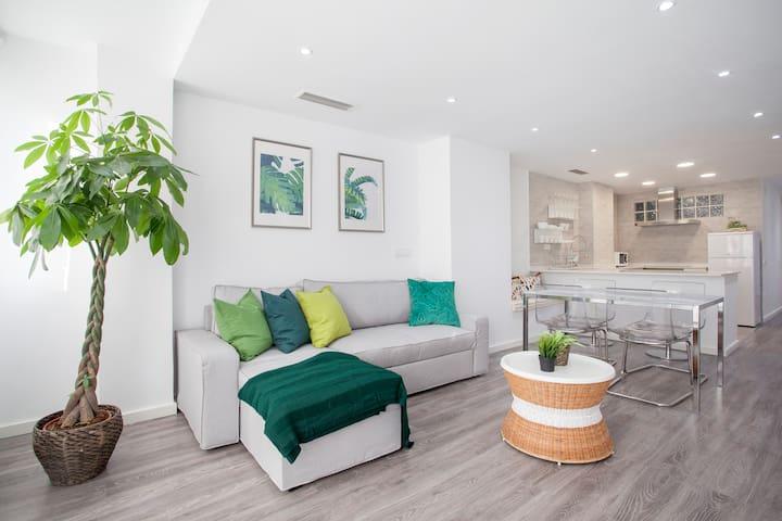 Apartamento luminoso en el corazón de Ruzafa